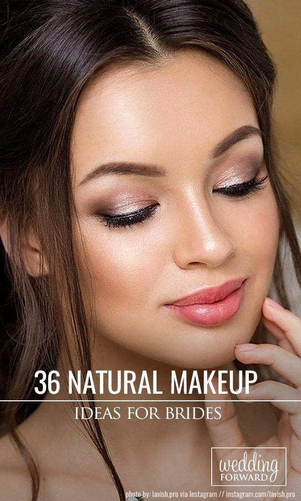 Свадьба - 36 Ideas For Natural Bridal Makeup