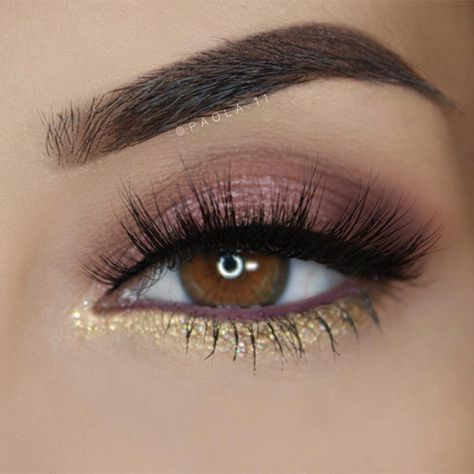 Свадьба - 12 Chic Makeup Ideas For Brown Eyes