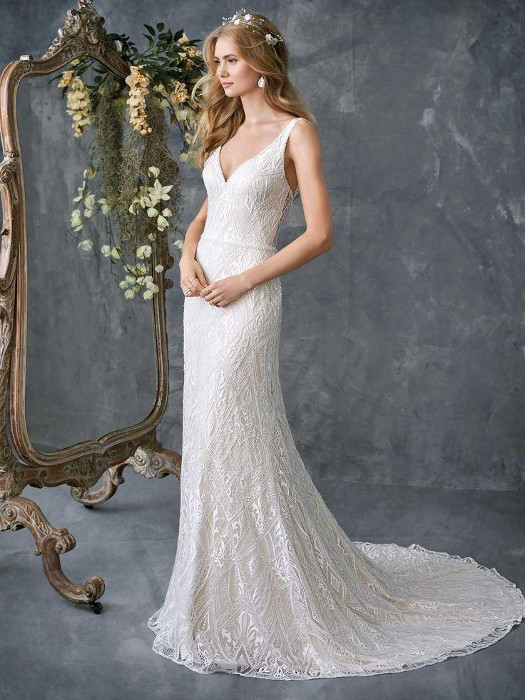 Kenneth Winston Wedding Dresses | Timelessly Elegant 2018 Spring Kenneth Winston Wedding Dresses