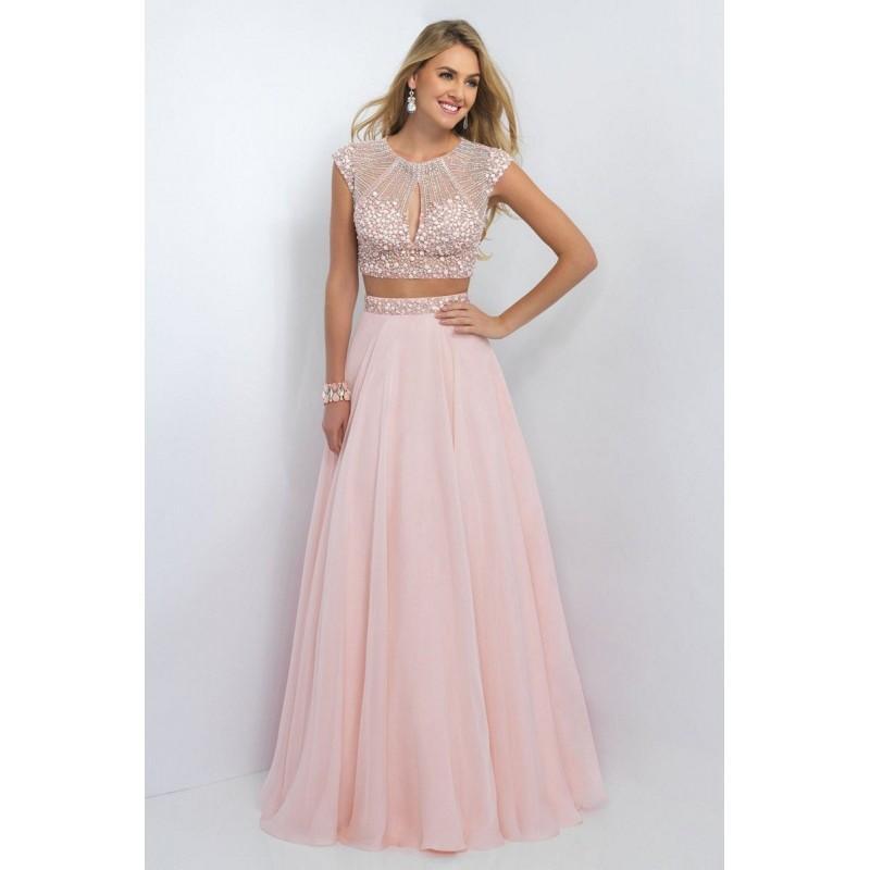 5d636dcae78e4 Blush 5513 Prom Dress - Blush Illusion, Jewel, Sweetheart 2 PC, Ball ...