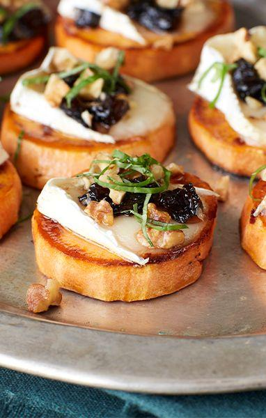 Boda - Prune, Yam And Brie Crostini
