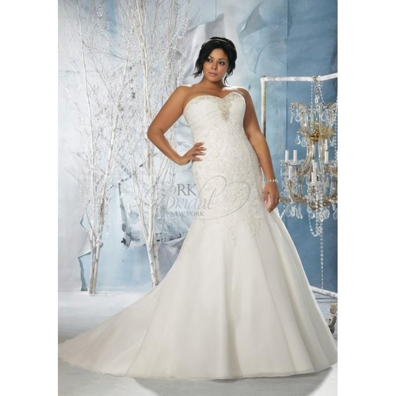 Julietta Plus Size Bridal Collection By Mori Lee Fall 2013 - Style ...