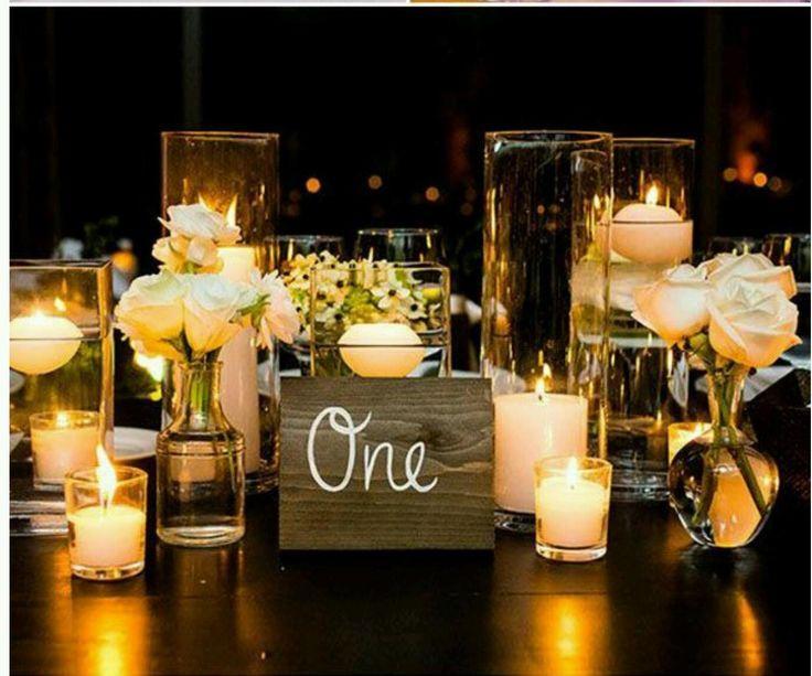 Свадьба - Wedding Table Numbers