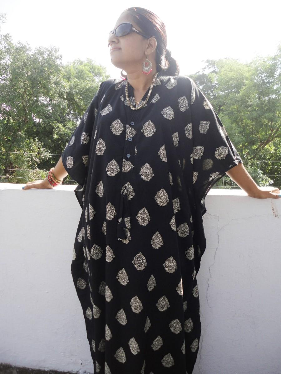4d86a4a81d5d Long Floral Kaftan, Caftan, cotton caftan, cotton kaftan, kaftan maxi dress,  long caftan, indian maxi dress batik robe women's clothing