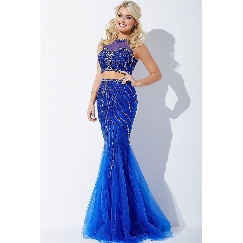 Mariage - Jovani - Two-Piece Embellished Dress JVN33698 - Designer Party Dress & Formal Gown