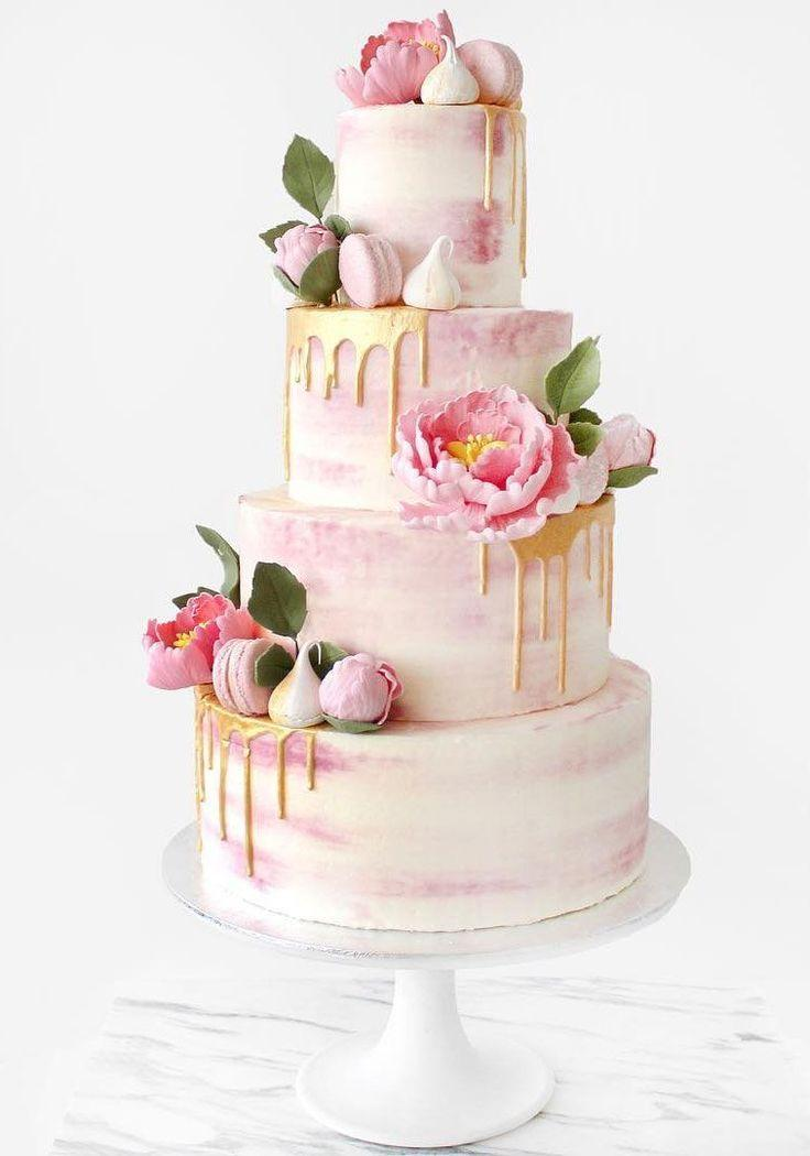 Wedding - 10 Stunning Floral Cakes: Inspiration For The Spring Weddings