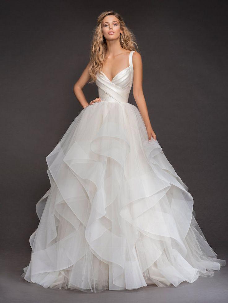 Wedding - Drop-dead Gorgeous Spring 2018 Hayley Paige Wedding Dresses