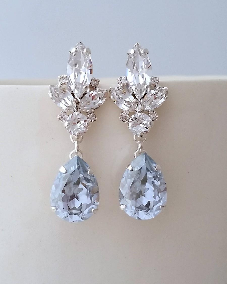 diamond cute stone clip for on earrings blue alloy girls product designs bright