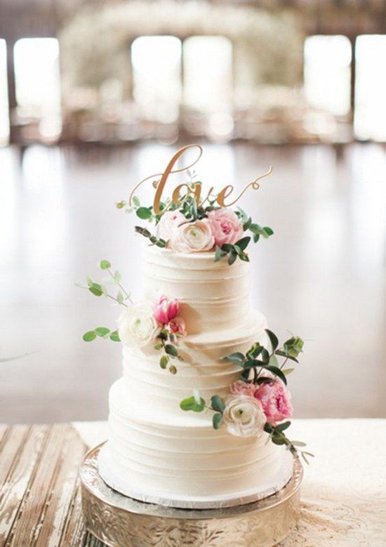 Wedding - 100 Most Beautiful Wedding Cakes For Your Wedding!