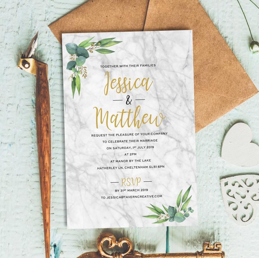 Rustic Wedding Invitation, Wedding Reception Invitation, Postcard ...