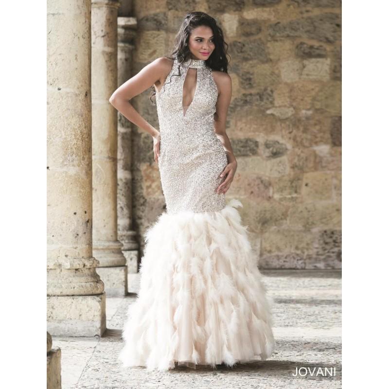 Wedding - Navy Jovani Prom 22294 - Brand Wedding Store Online