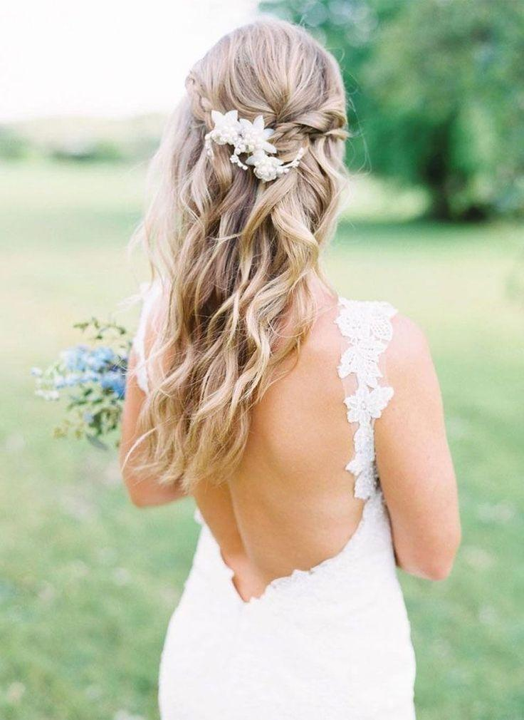 58 Gorgeous Half Up Half Down Hairstyles Ideas 2821739 Weddbook