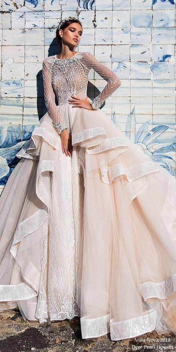 Top 20 Long Sleeves Wedding Dresses For 2018 #2821798 - Weddbook