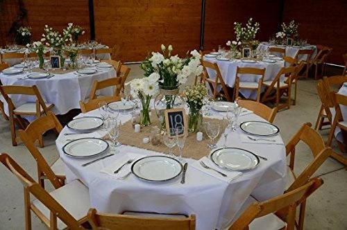 """Hochzeit - Burlap Squares, Centerpieces, 1 Dozen Jute Burlap 20"""" x 20"""", Wedding Table Decor, Burlap Placemats, Burlap Colored."""