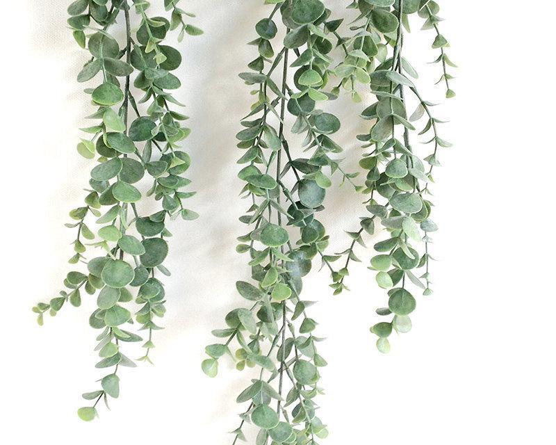 Eucalyptus Garland Faux Spray Silver Dollar Leaves Centerpiece Bouquet
