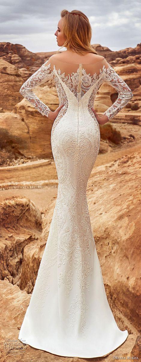 Свадьба - 25 Favourite Fall Long Sleeve Wedding Dresses Ideas