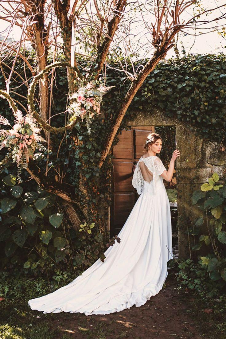 Romantic Vintage Garden Wedding Inspiration From Spain #2822195 ...