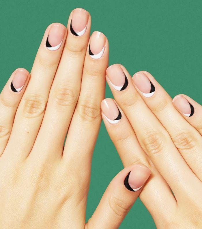Свадьба - 14 Minimalist Nail Art Designs That Aren't Boring