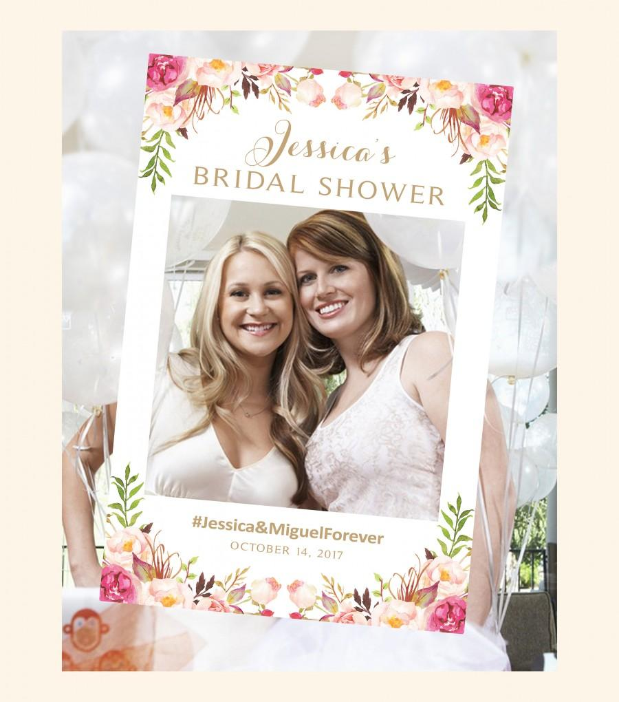 Einladung - Bridal Shower Photo Booth Frame #2822975 - Weddbook