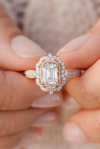 Свадьба - 27 Rose Gold Engagement Rings That Melt Your Heart