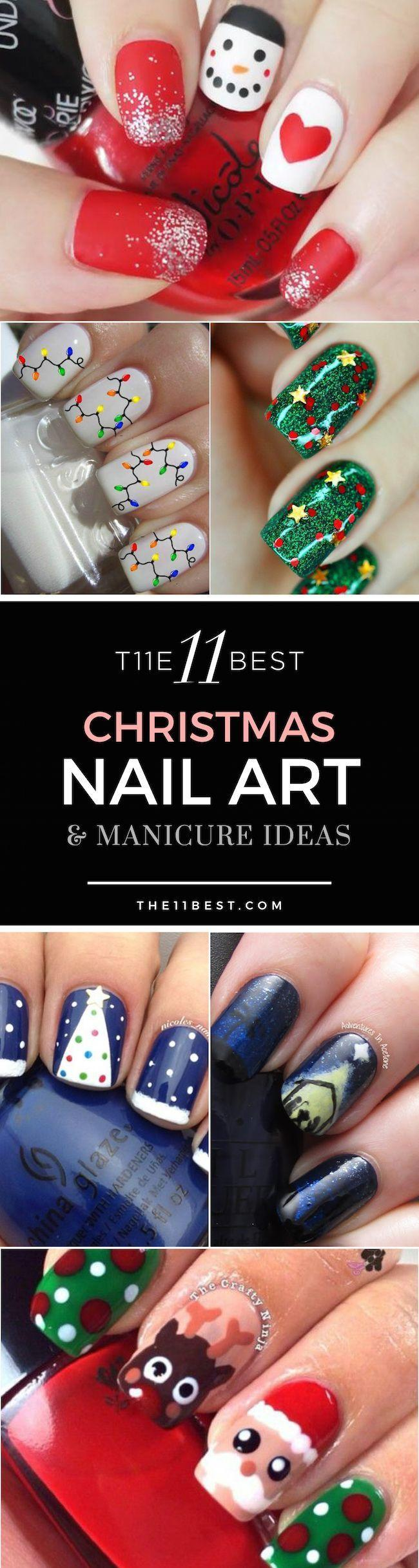Mariage - The 11 Best Christmas Nail Art Ideas