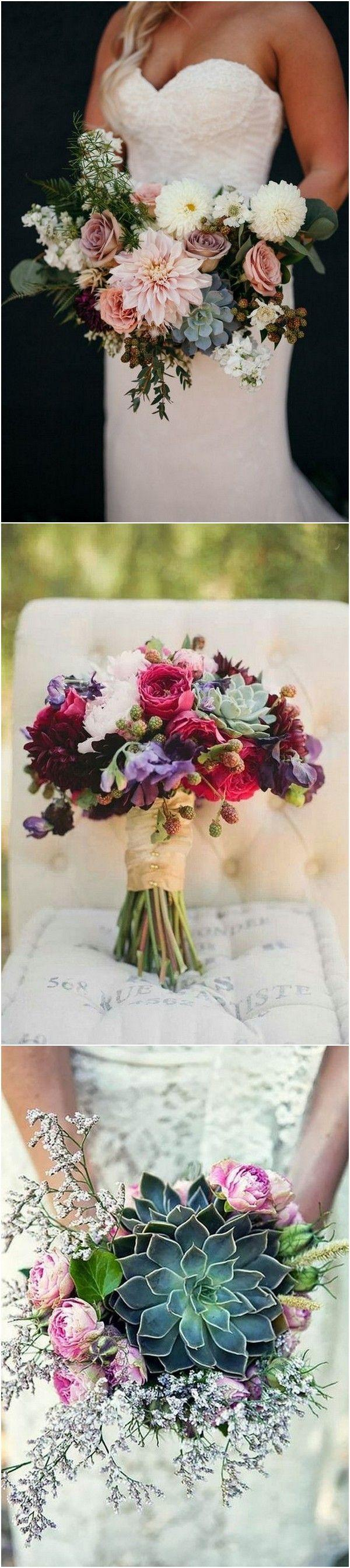 Свадьба - 20 Trending Wedding Bouquet Ideas With Succulents - Page 2 Of 2
