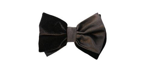 Wedding - Black Velvet Bowtie