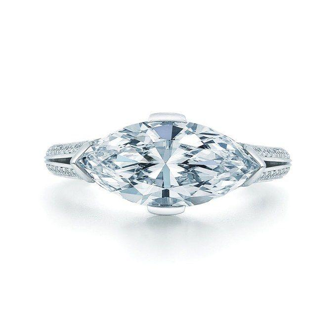Свадьба - 14 Engagement Rings That Show Off The Trend That's About To Take The World By Storm