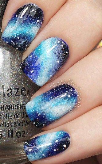 Mariage - Galaxy Nails