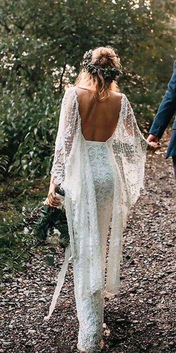 Свадьба - Top 18 Boho Wedding Dresses For 2018 Trends