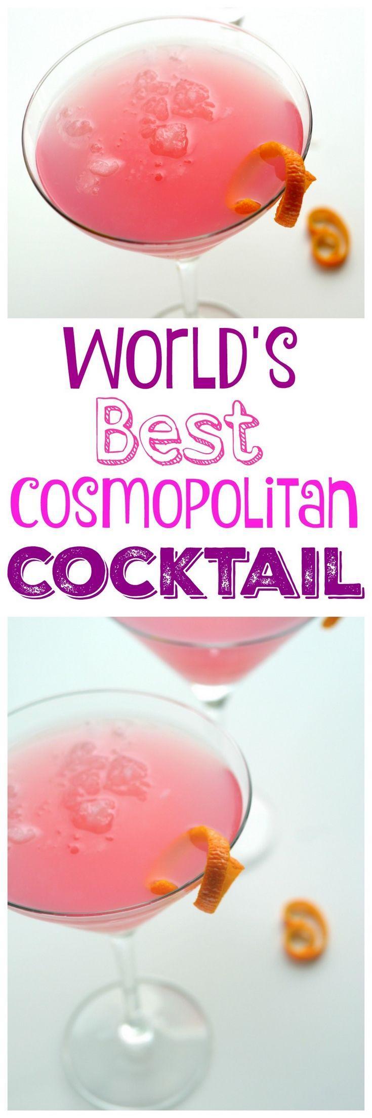 Свадьба - World's Best Cosmopolitan Cocktail
