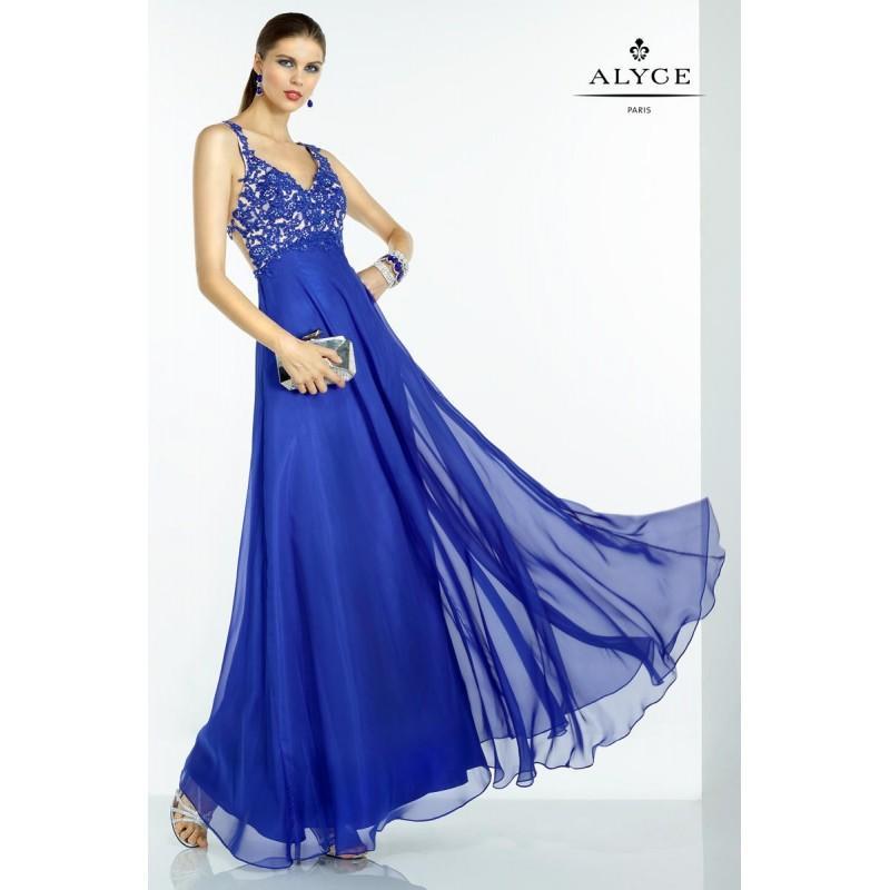 Boda - Sapphire/Nude B'Dazzle by Alyce Paris 35768 - Brand Wedding Store Online