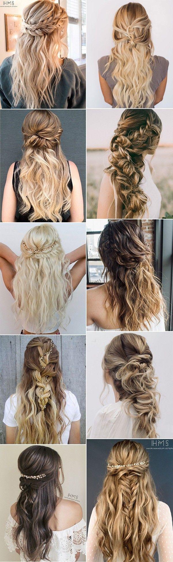 Свадьба - 20 Inspiring Wedding Hairstyles From Steph On Instagram