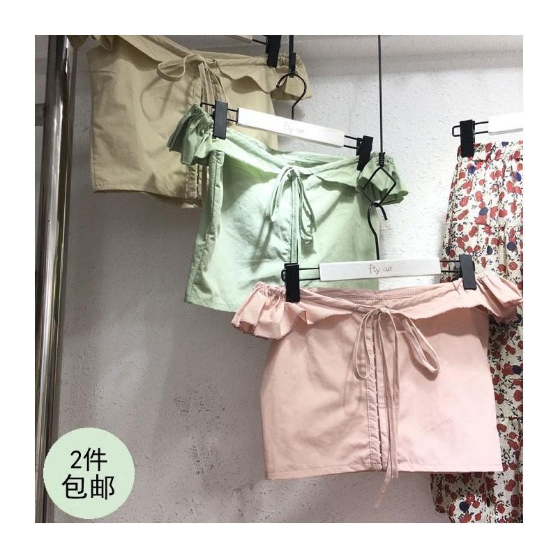 Hochzeit - Sexy Open Back Attractive Bateau Off-the-Shoulder Summer Sleeveless Top Basics - Lafannie Fashion Shop
