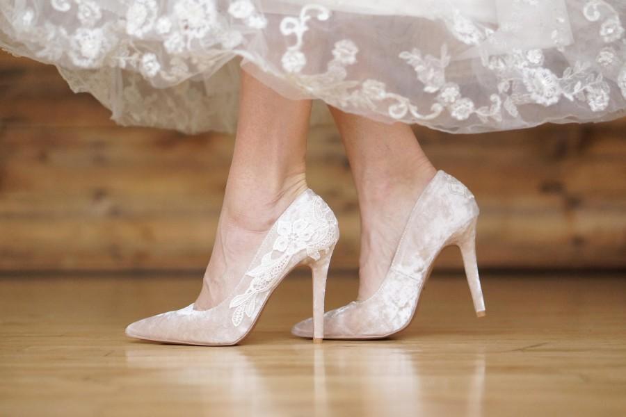 ebb6563747 Champagne Wedding Shoes