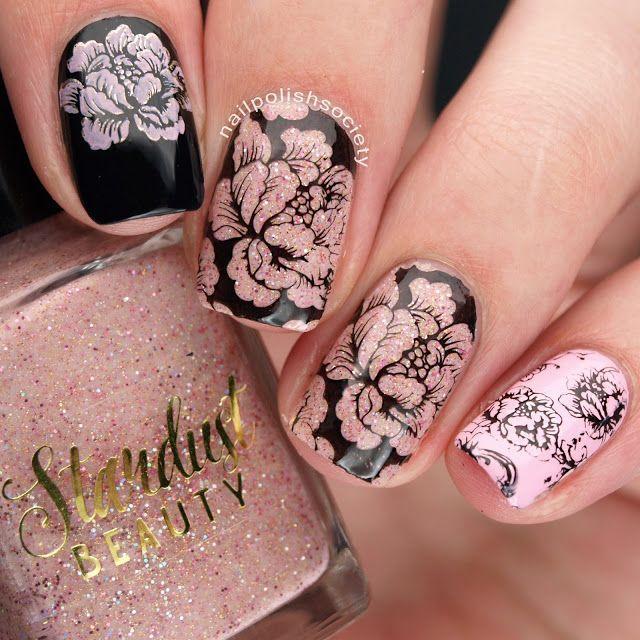 Mariage - Nail Art: Stamping
