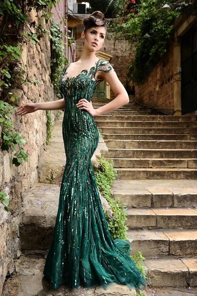 زفاف - Leave A Little Sparkle Wherever You Go - 50 Ultra-Glam Sparkly Metallic Gowns