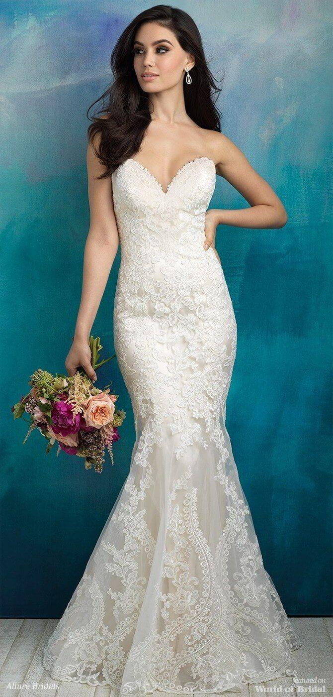 Wedding - Allure Bridals Spring 2018 Wedding Dresses