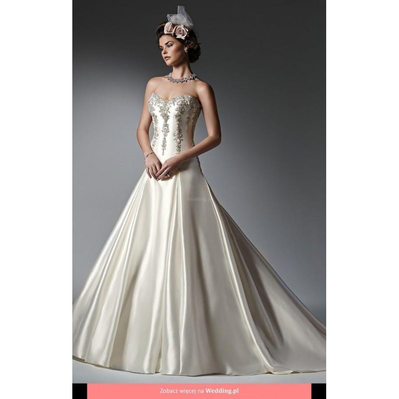Wedding - Sottero and Midgley - Vanessa Monaco Floor Length Sweetheart Classic Sleeveless Long - Formal Bridesmaid Dresses 2018