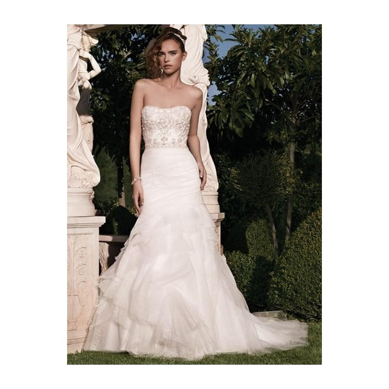 Hochzeit - Casablanca Wedding Dresses - Style 2133 - Formal Day Dresses