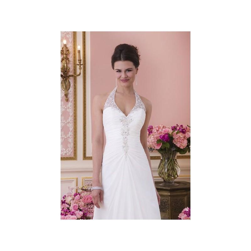 Vestido De Novia De Sweetheart Modelo 6028_129 - 2014 Recta Halter ...