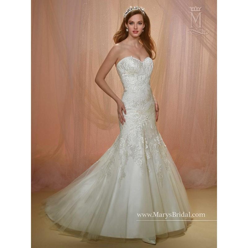 Wedding - Marys Bridal 6504 Wedding Dress - 2018 New Wedding Dresses