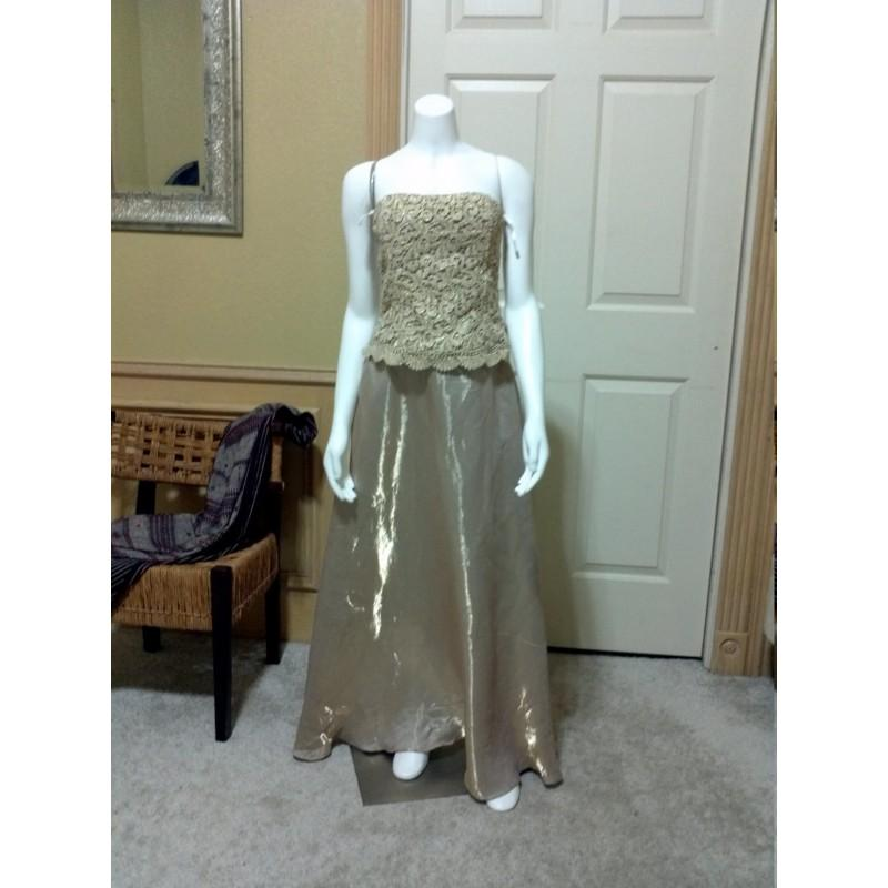 Art Deco Gold Strapless Cocktail Dresselegant Prom Dressgold