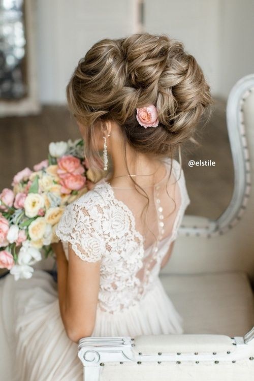 Свадьба - Wedding Hairstyle Inspiration - Elstile