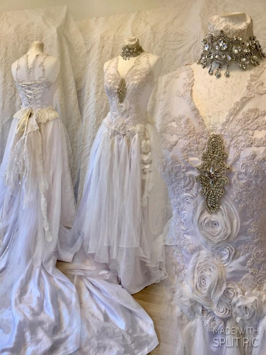 Wedding Dress One Of A Kind,wedding Dress Beaded,wedding Dress Lace ...