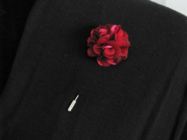 زفاف - Burgundy lapel pin, mens boutonniere, grooms boutonniere, groomsmen, wedding lapel pin, mens lapel pin, lapel flower pin, corsage