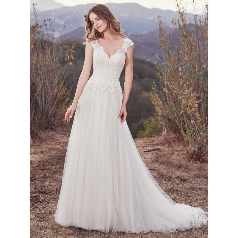 Maggie Sottero Fall 2017 Wedding Dresses: Maggie Sottero Fall/Winter 2017 Hensley Chapel Train Sweet