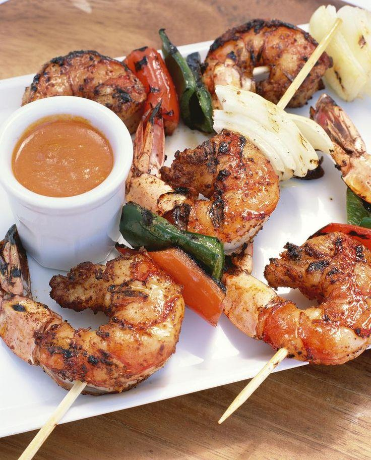 Mariage - Honey, Ginger, Lime, And Rum Glazed Shrimp