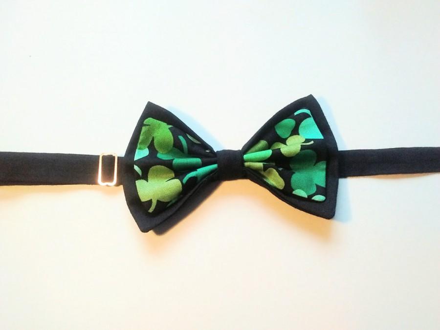 Hochzeit - St Patrick's Day / Formal Wear/ Wedding Attire / Irish Bow Tie / Made to order / Unique / Wedding Day / Man's Bow Tie