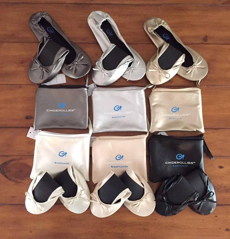 Свадьба - Wedding Flats for Guest & Dancing, Ballet Slipper Flats, Rollable Shoes, Flat Wedding Shoes, Foldable Flats, Wedding Favor, Bridesmaid Gift